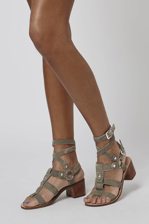 Topshop Suede Sandals Rflsz2
