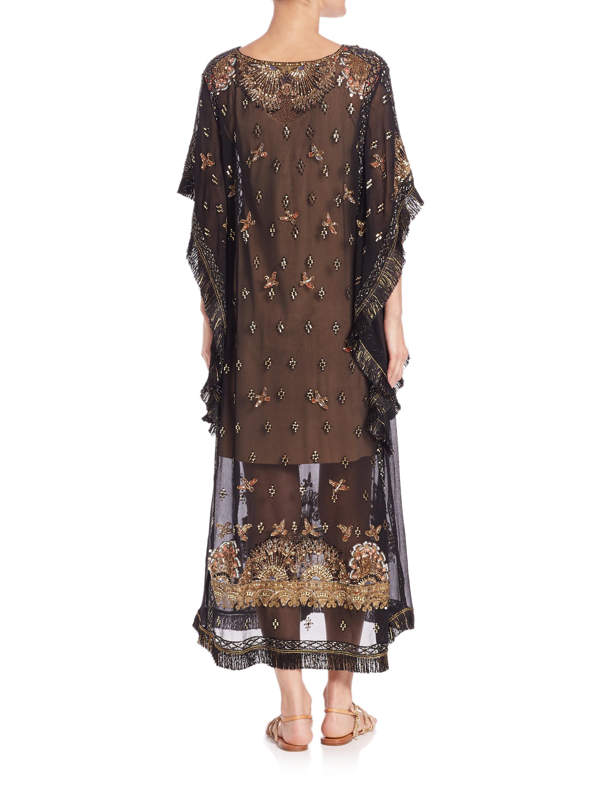 Lyst Calypso St Barth Lorsea Dress In Black