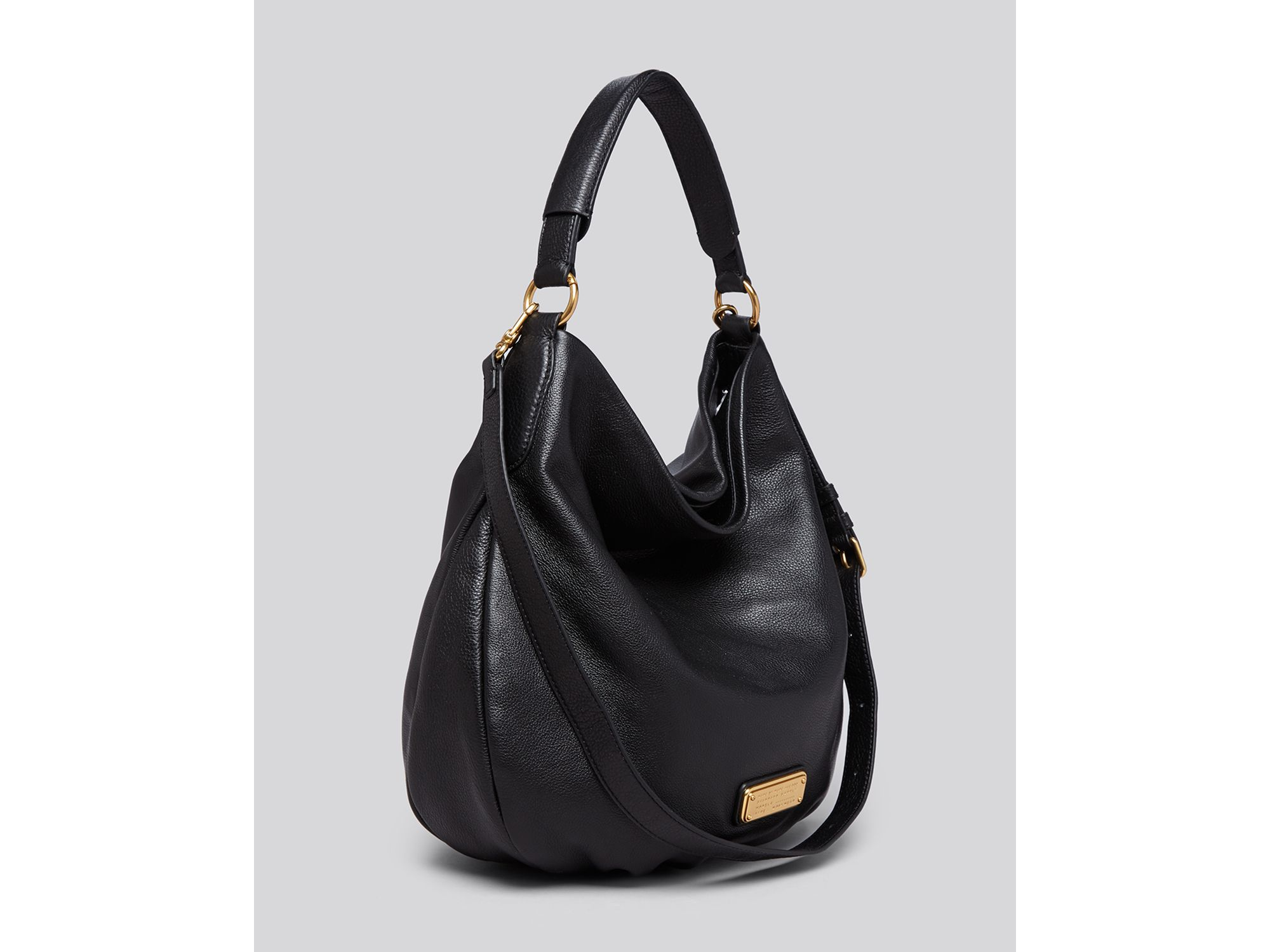 b581808e8ff Marc By Marc Jacobs Hobo - New Q Hillier in Black - Lyst