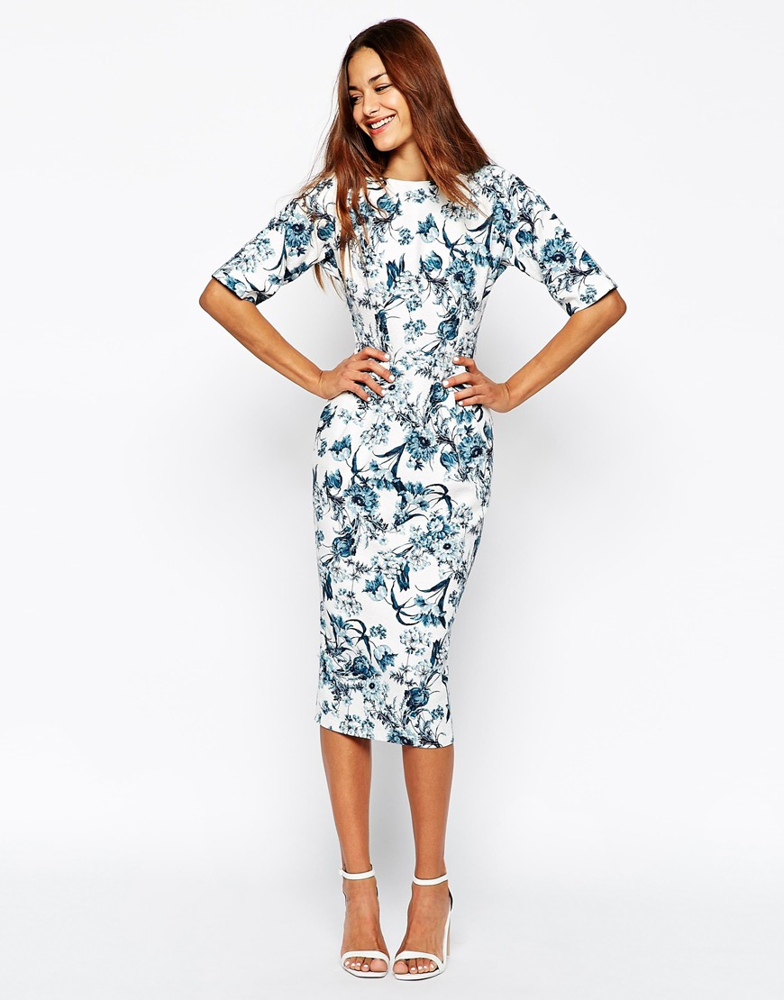 Blue Wedding Guest Dresses Asos Raveitsafe