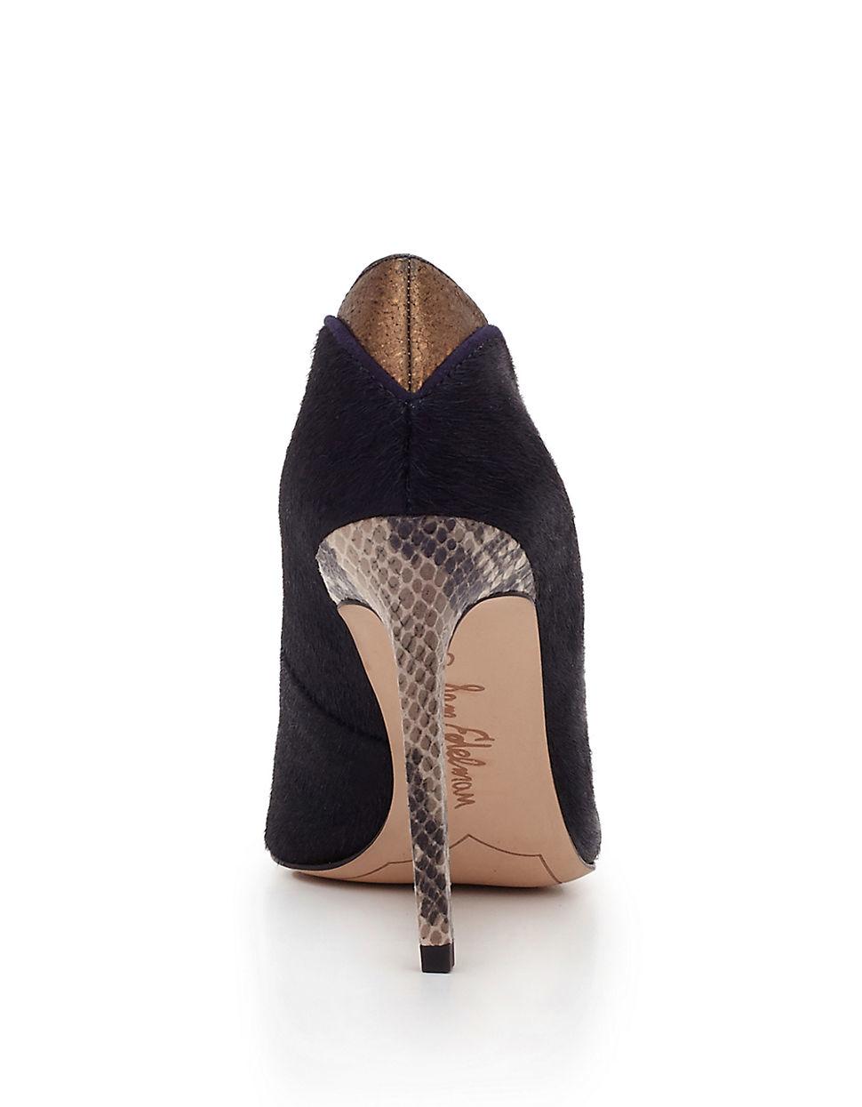 Womens Shoes Sam Edelman Dea Deep Blue Brahma