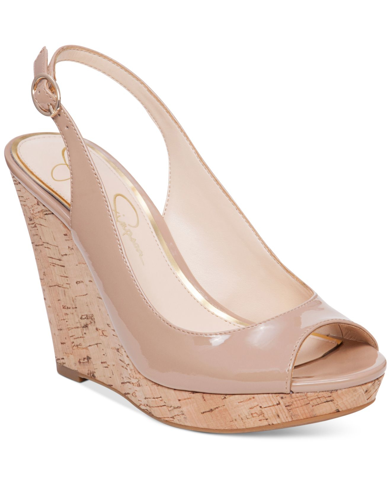 Jessica Simpson Nude Pumps