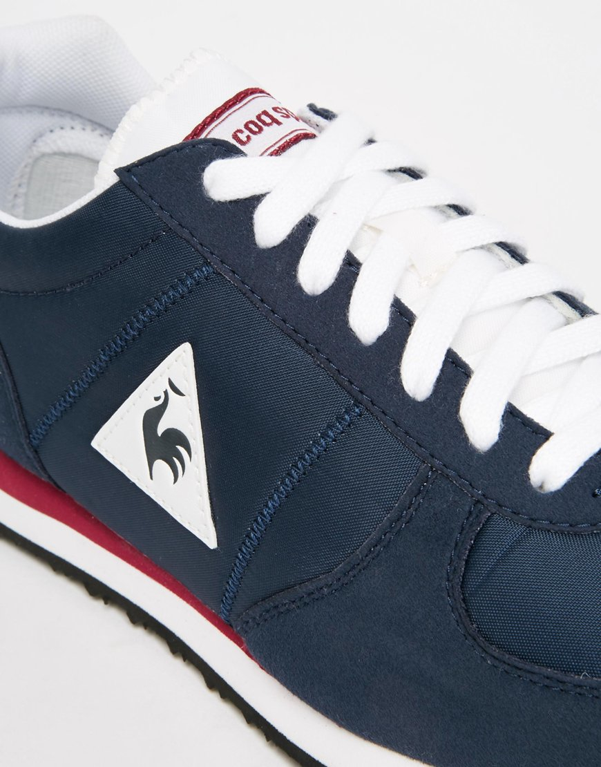 brand new 0039f 4a5da ... le coq sportif womens shoes sky blue gold ... Gallery ...