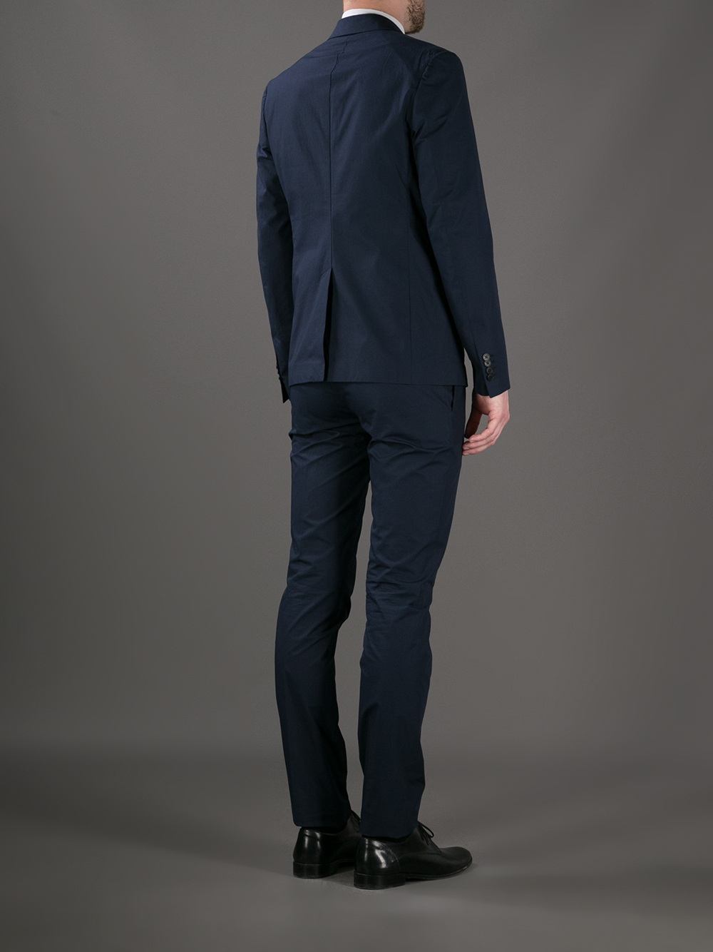lyst valentino two button suit in blue for men