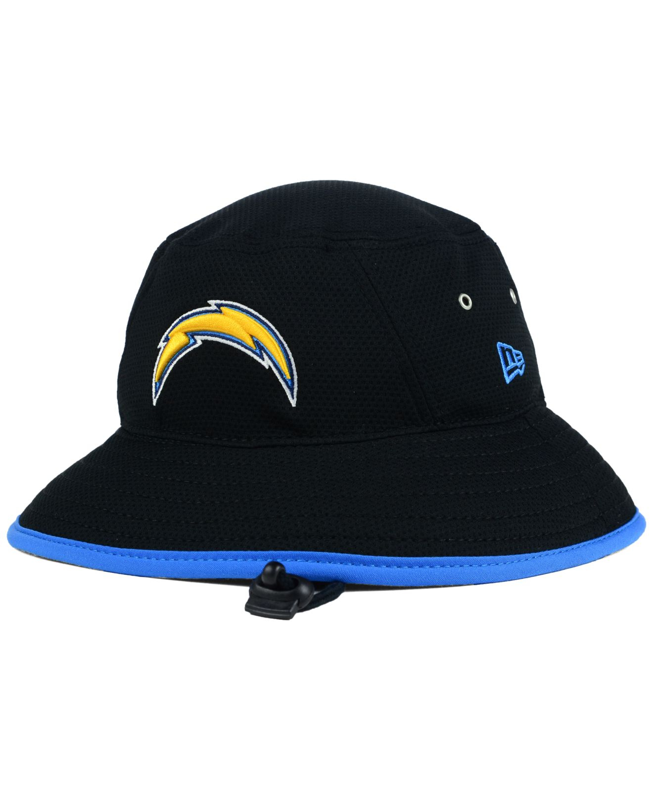 2dba795287aa8 KTZ San Diego Chargers Training Bucket Hat in Black for Men - Lyst