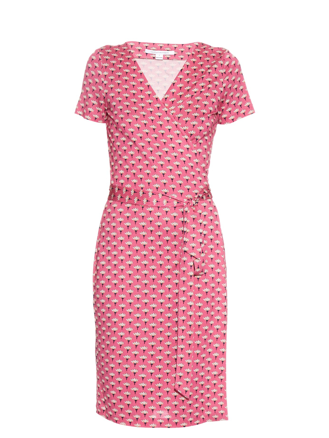 ab347d71f29 Diane von Furstenberg New Julian Two Dress in Pink - Lyst