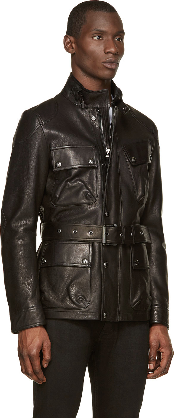 Belstaff Circuitmaster Jacket Leather