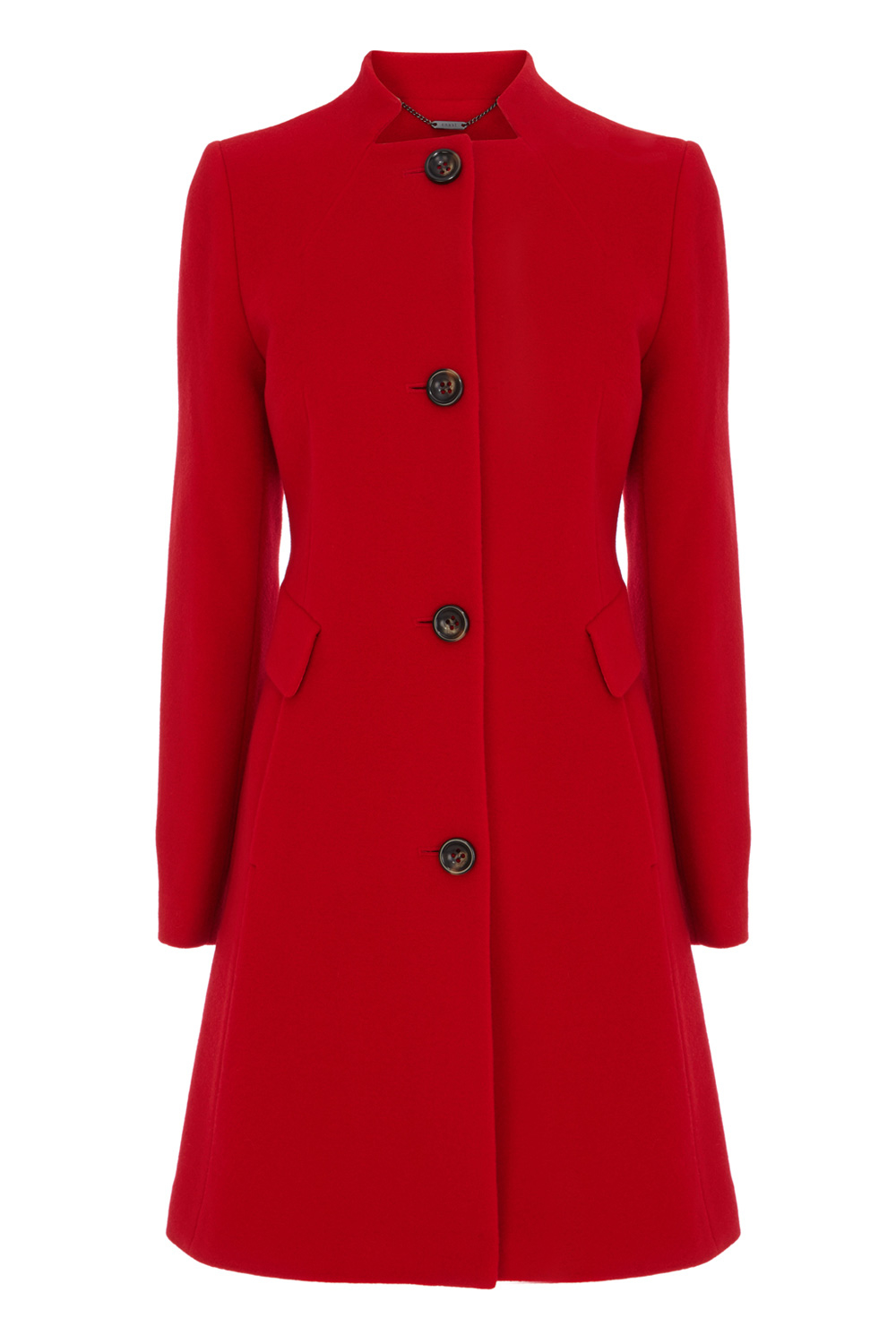 Coast Bergen Wool Coat in Red | Lyst