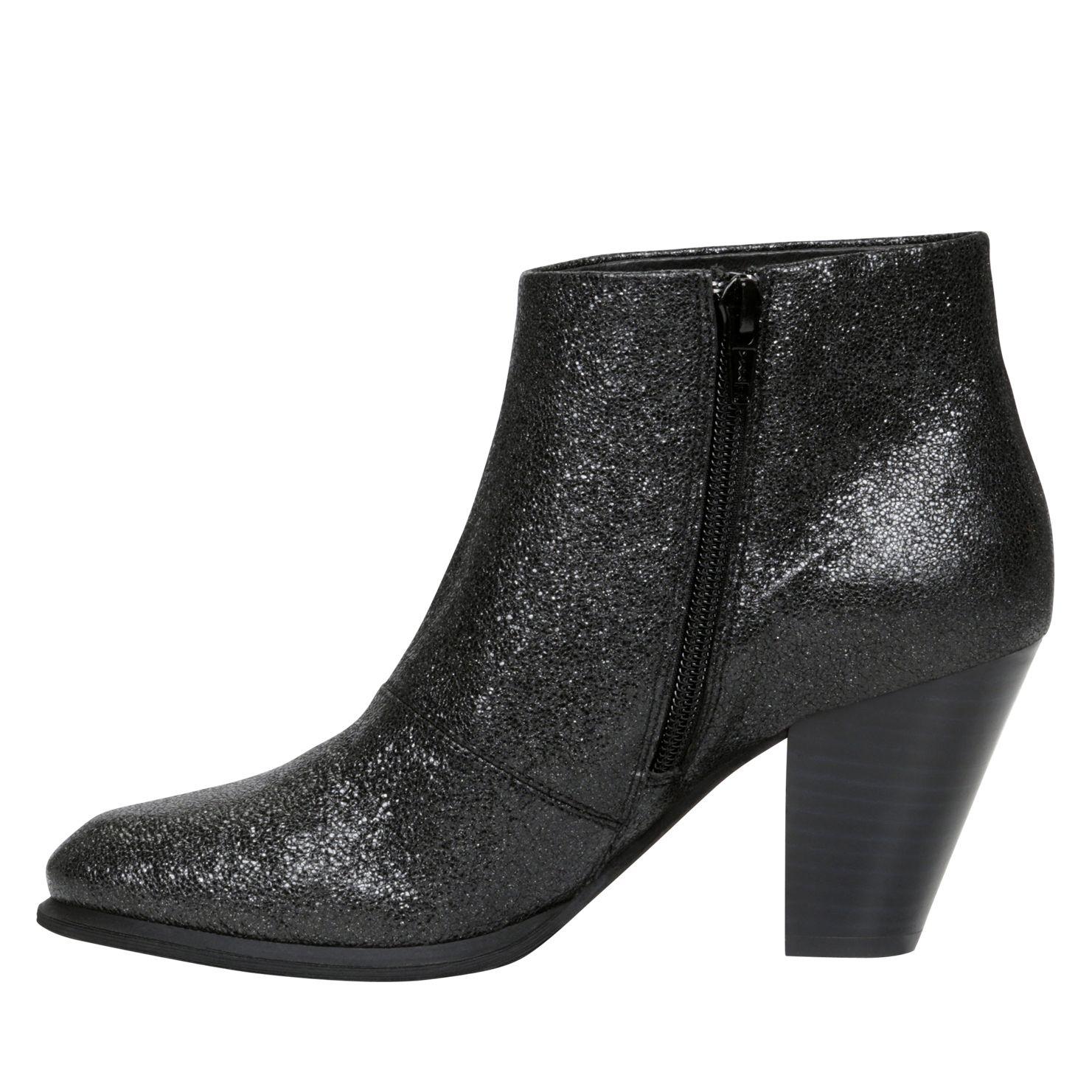aldo montoro block heel ankle boots in black lyst