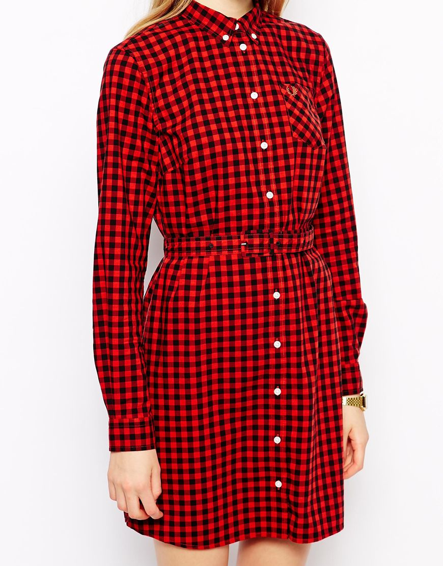 Fred perry red dress dream