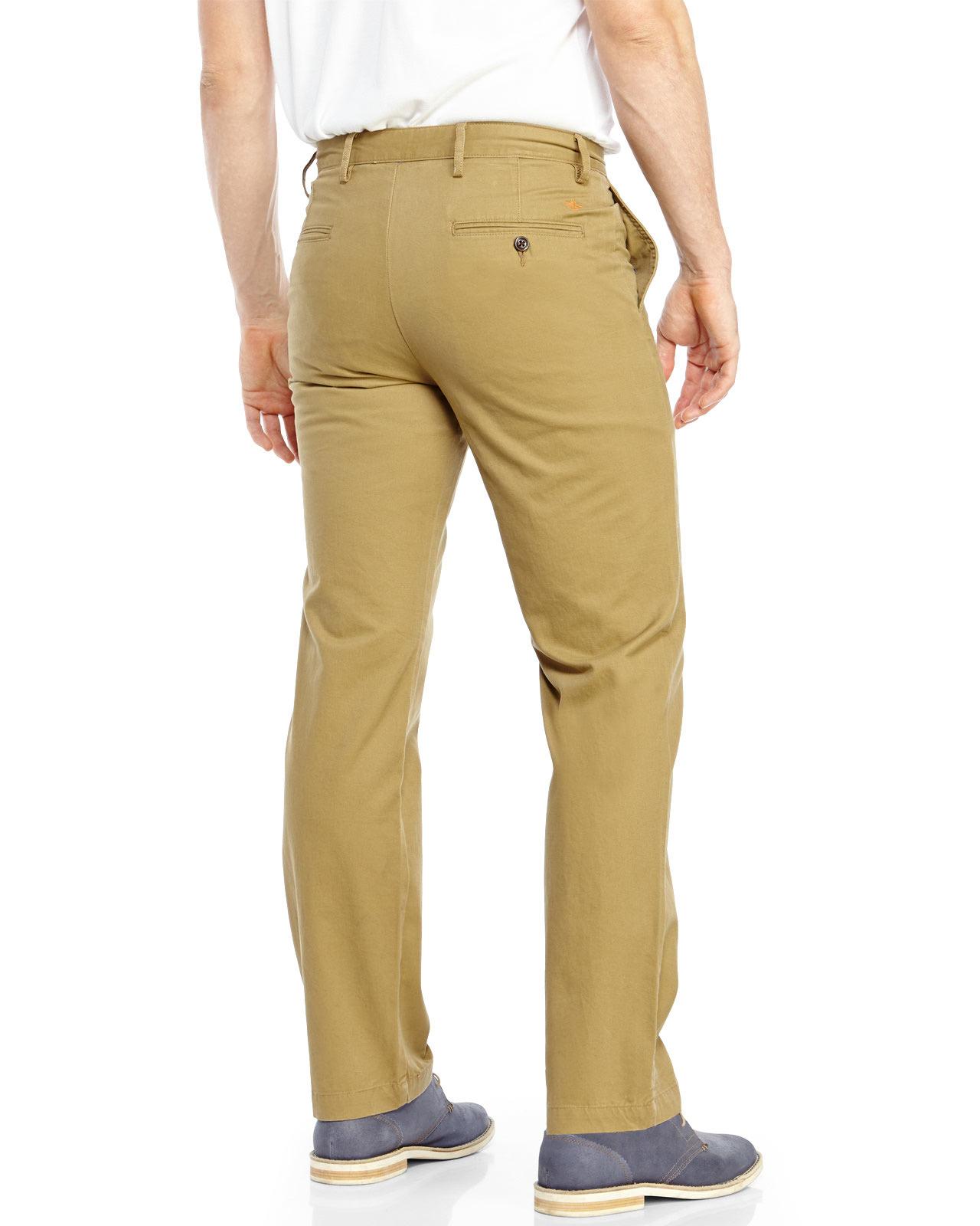 Khaki Slim Fit Pants