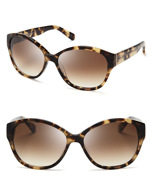 Lyst - Kate Spade New York Kiersten Cat Eye Sunglasses ...