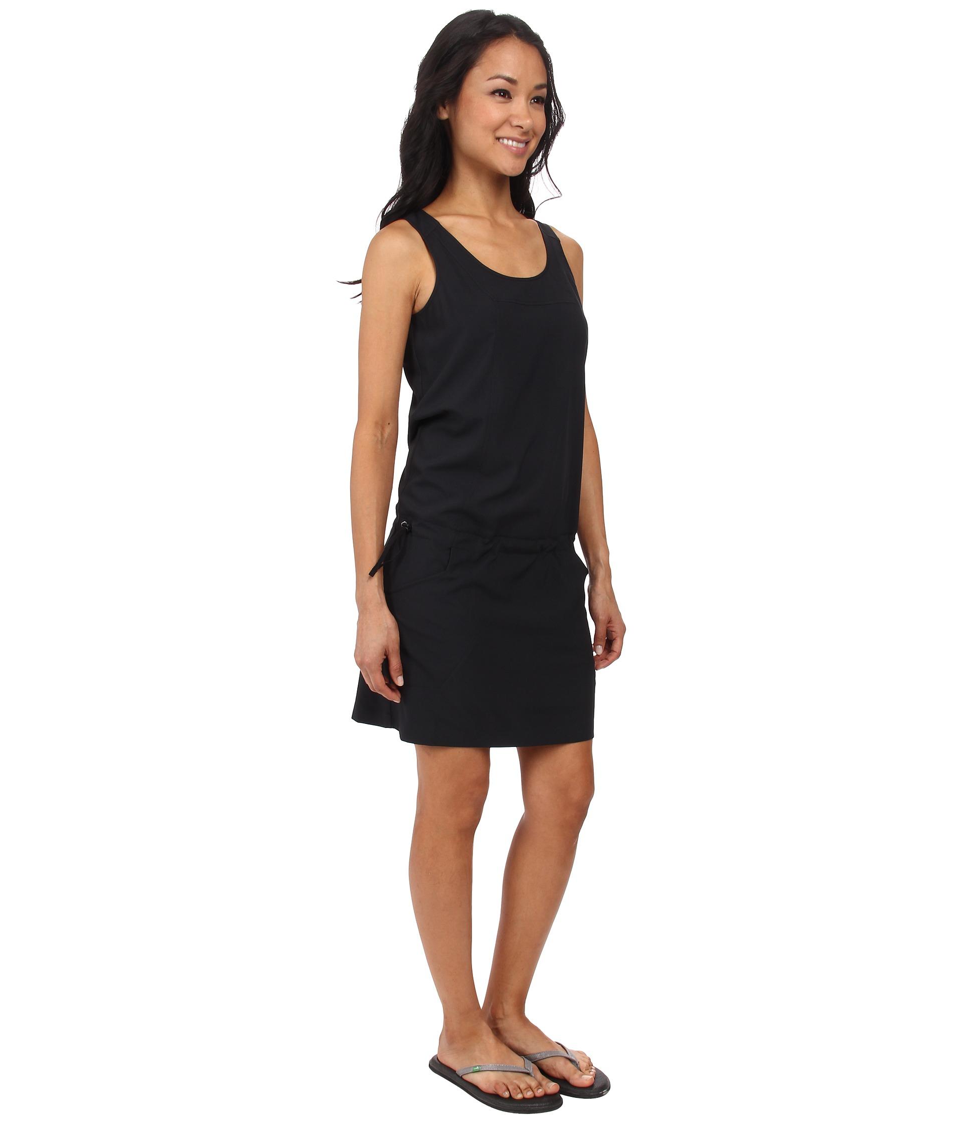 Arc Teryx Contenta Dress In Black Lyst