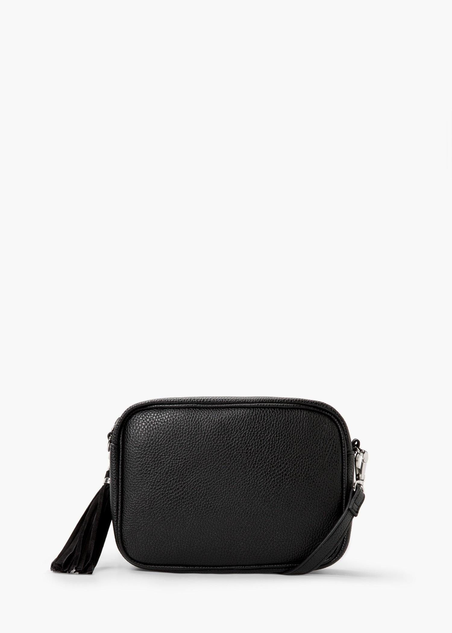 6bab883b656d Mango Cross-body Small Bag in Black - Lyst