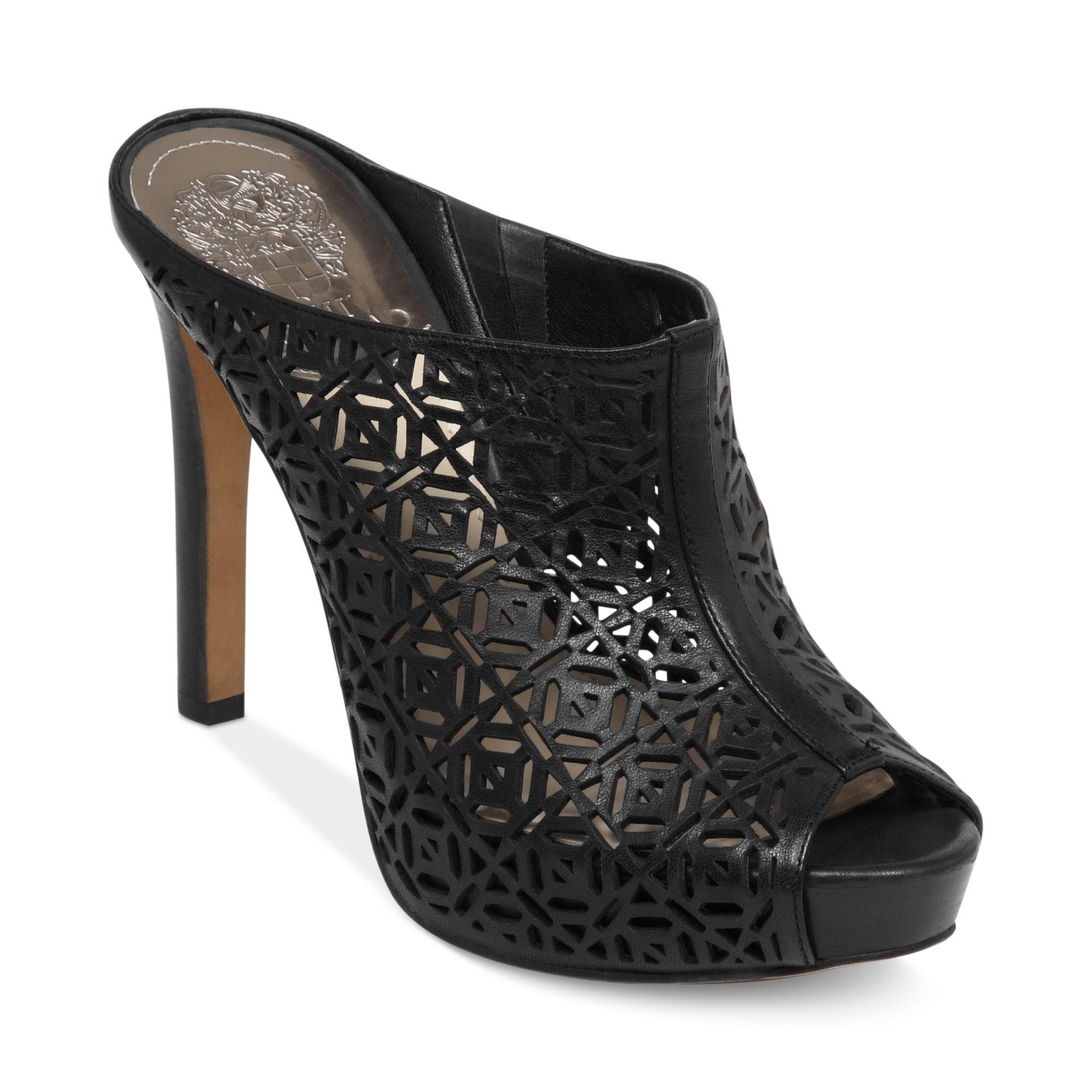 Vince Camuto Jaso Platform Sandals In Black Lyst