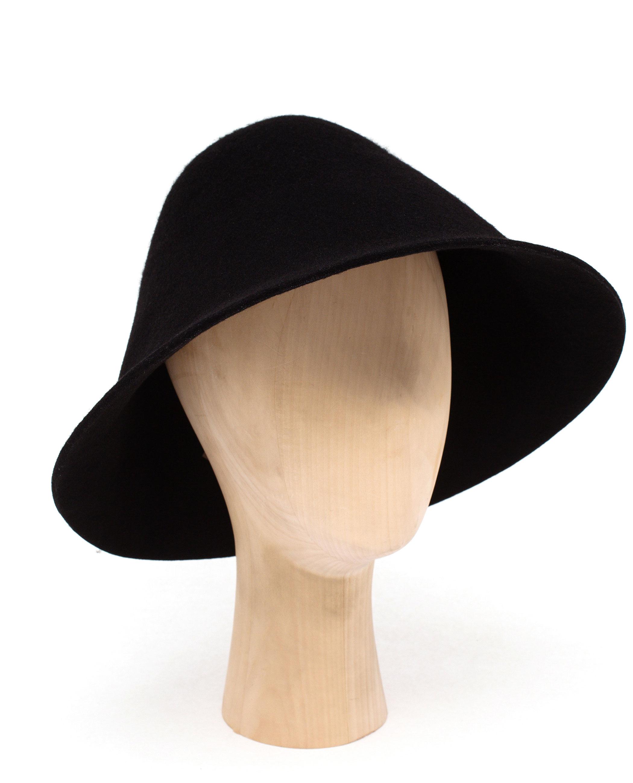 Comme des Garçons Felt Wool Hat in Black - Lyst 643a5d87940