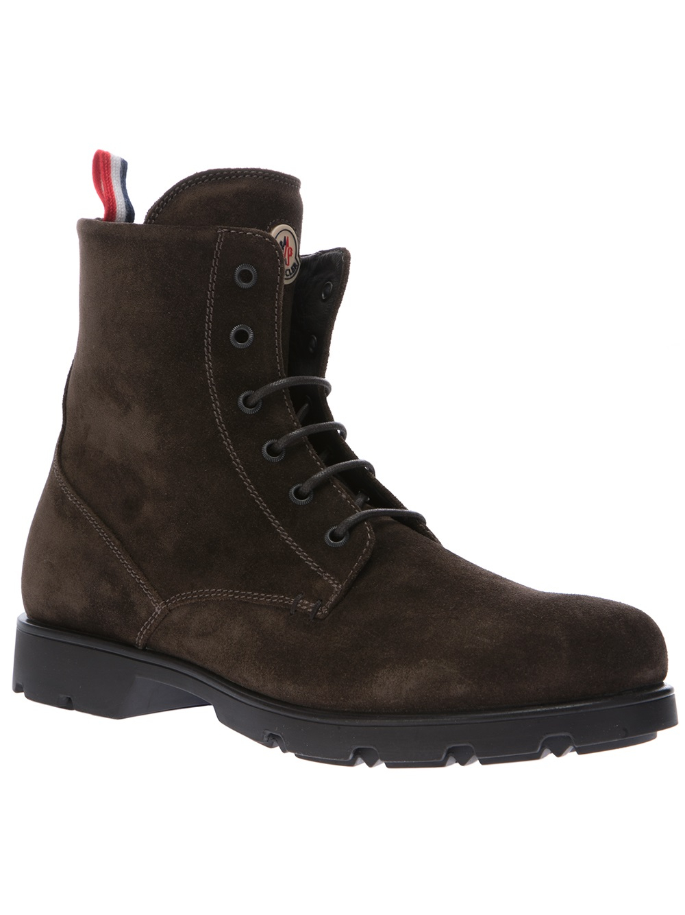 moncler vancouver boots in brown for men lyst