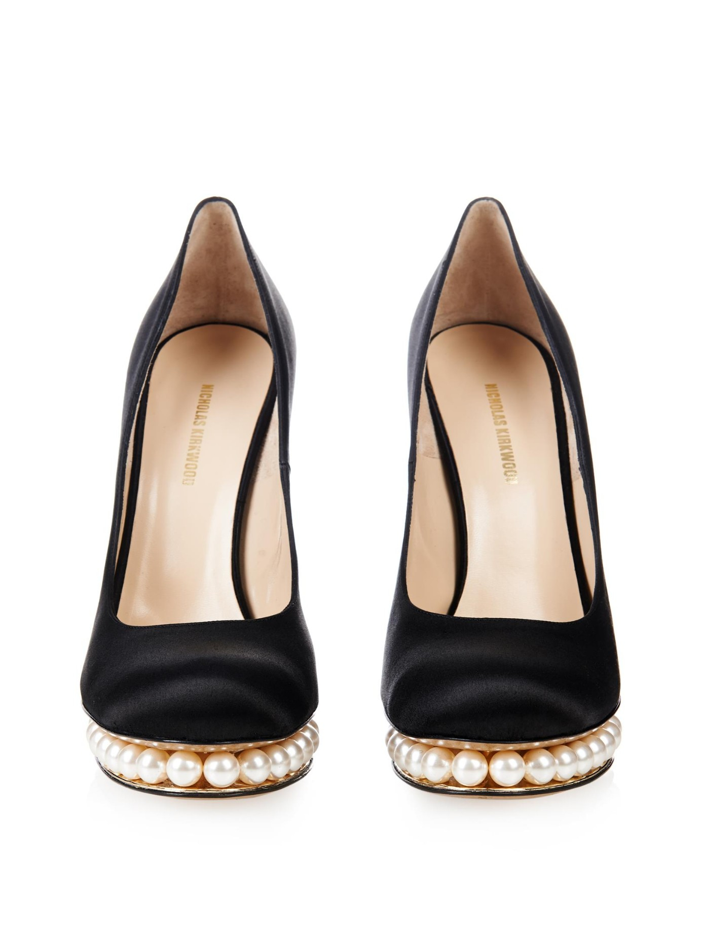Nicholas Kirkwood Casati Pearl leather pumps