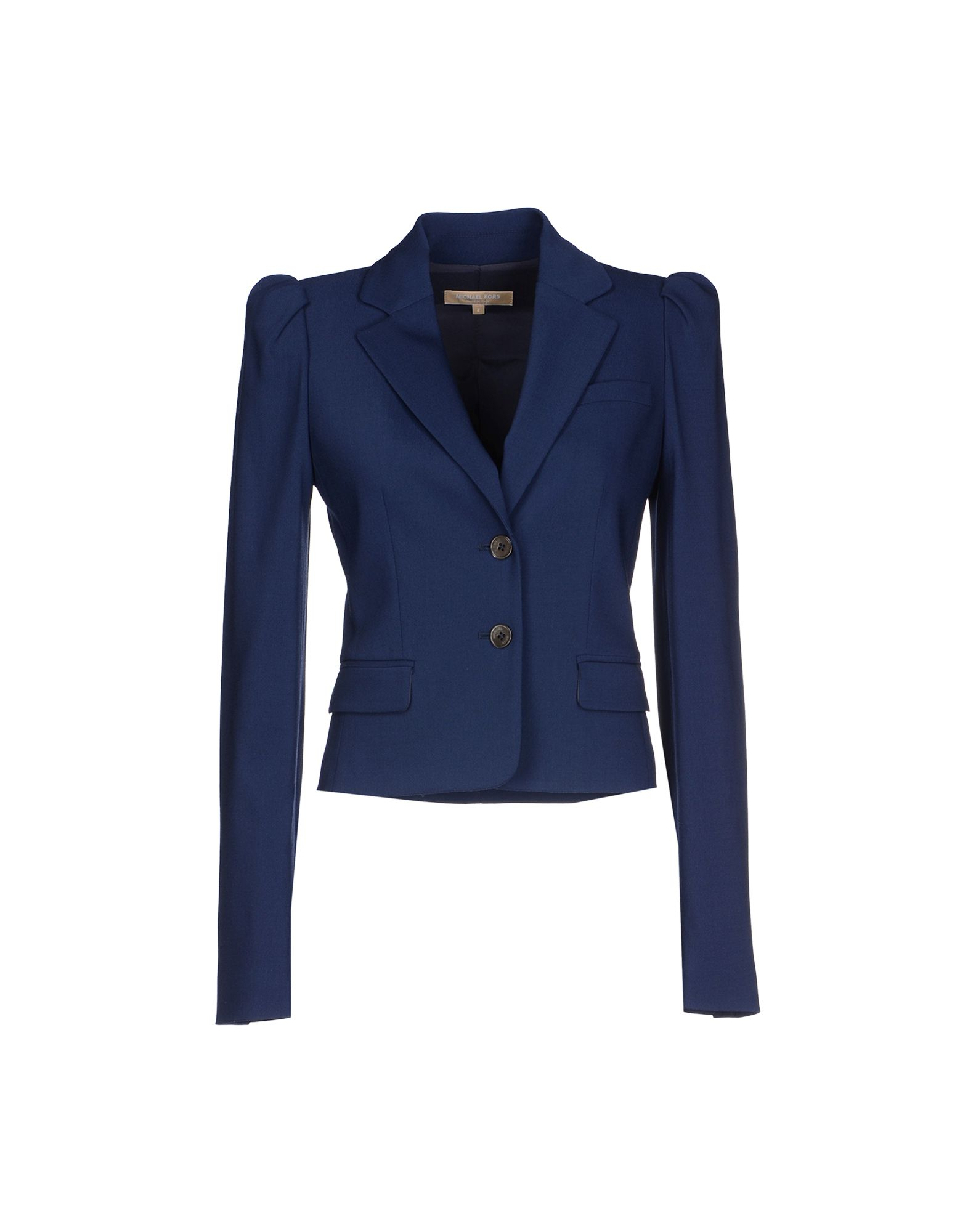 michael kors blazer in blue dark blue lyst. Black Bedroom Furniture Sets. Home Design Ideas