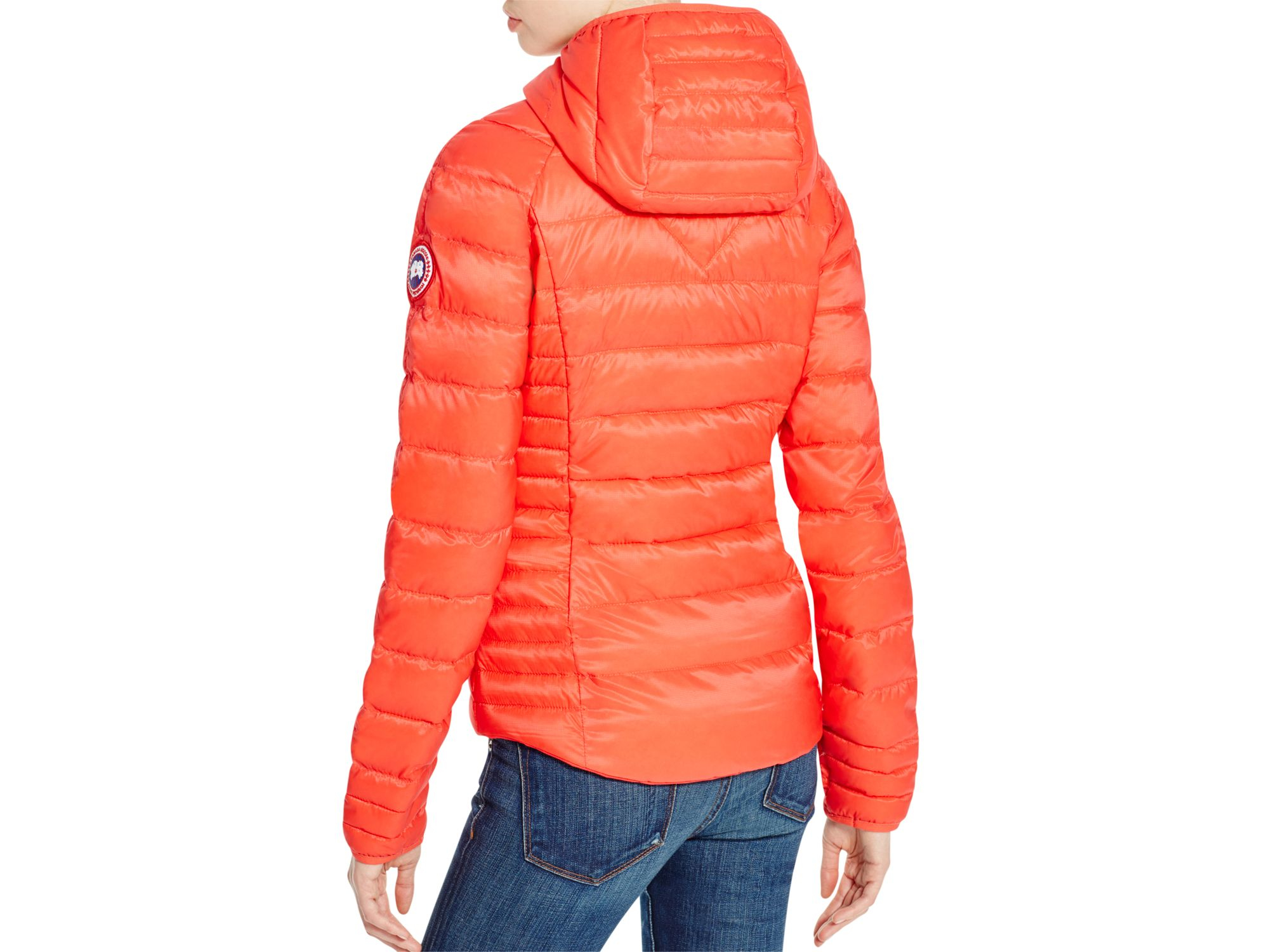 Canada Goose' - Brookvale Hooded Jacket - small - Red