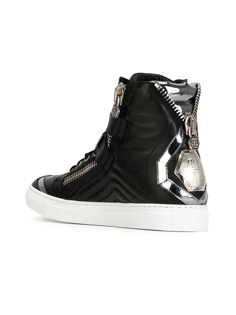 78 Best Images About Ulzzang On Pinterest: Philipp Plein '78 Things' Hi-Top Sneakers In Black