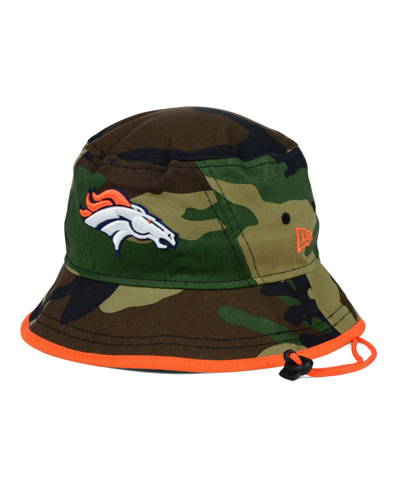 043147e615ba9 ... closeout lyst ktz denver broncos camo pop bucket hat in green for men  740d8 94a4b