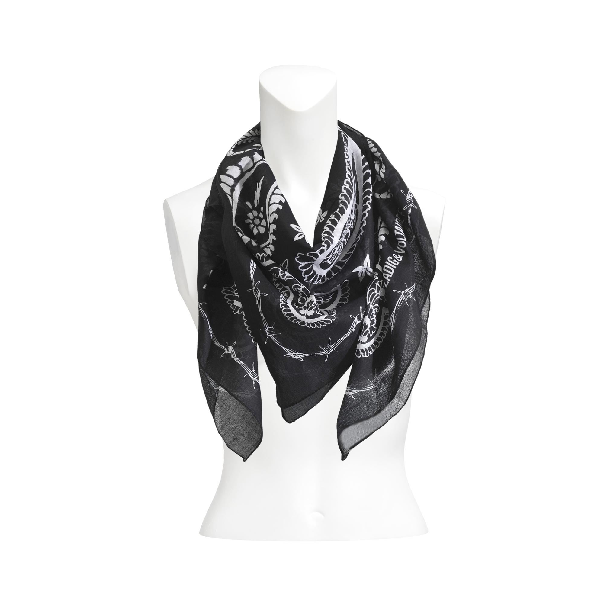 franco lyst scarf in sequin deluxe ferrari fullscreen schumacher stripe embellished accessories dorothee view