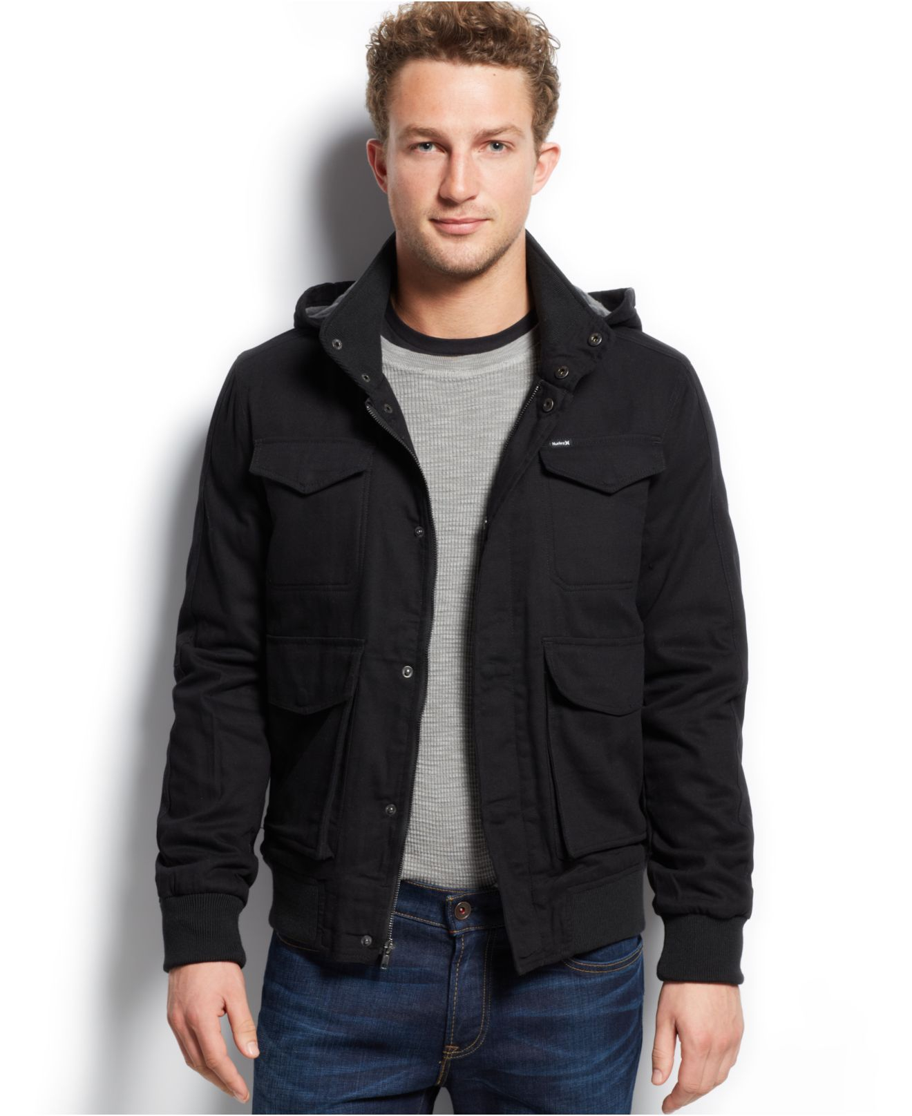 3bf409c62c7 Gallery. Previously sold at  Macy s · Men s Cardigan Jackets ...