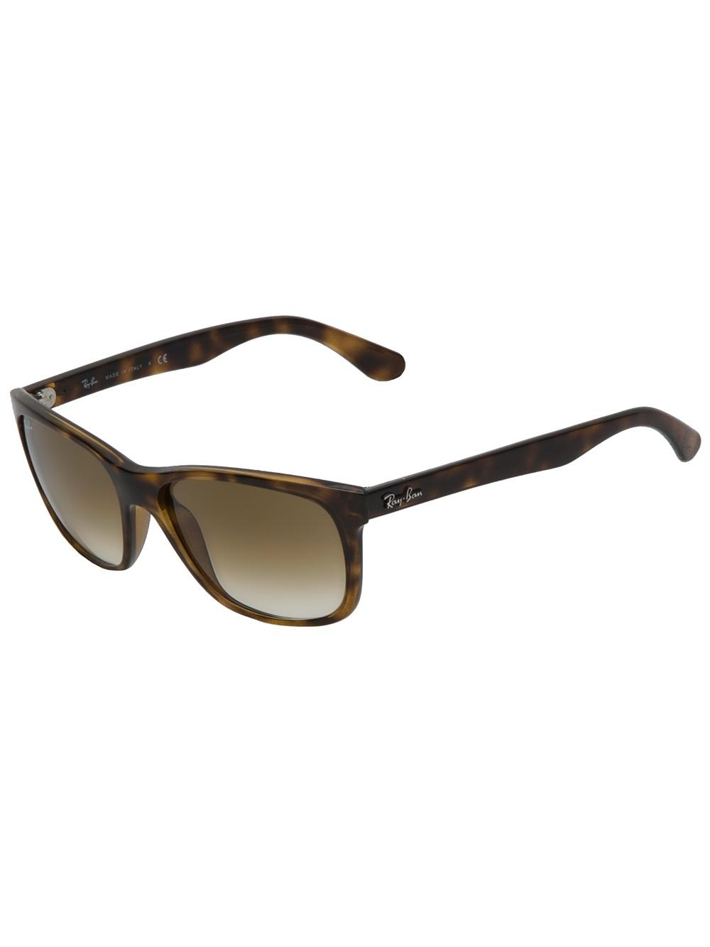 Ray Ban Glasses Frames Tortoise Shell : Ray-ban Tortoise Shell Sunglasses in Brown for Men Lyst