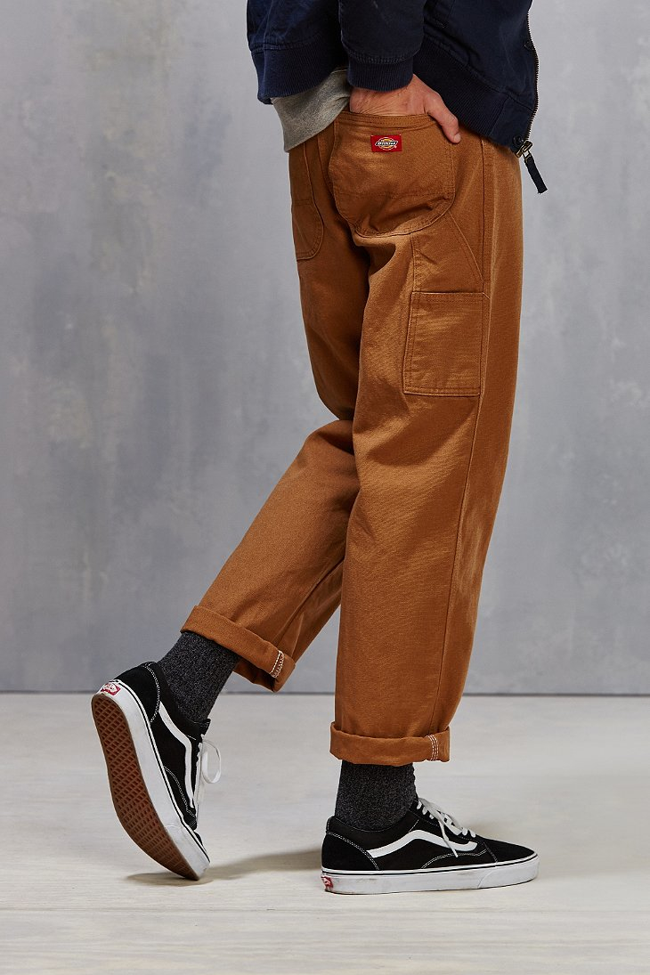 Lyst Dickies Relaxed Fit Straight Leg Carpenter Pant In