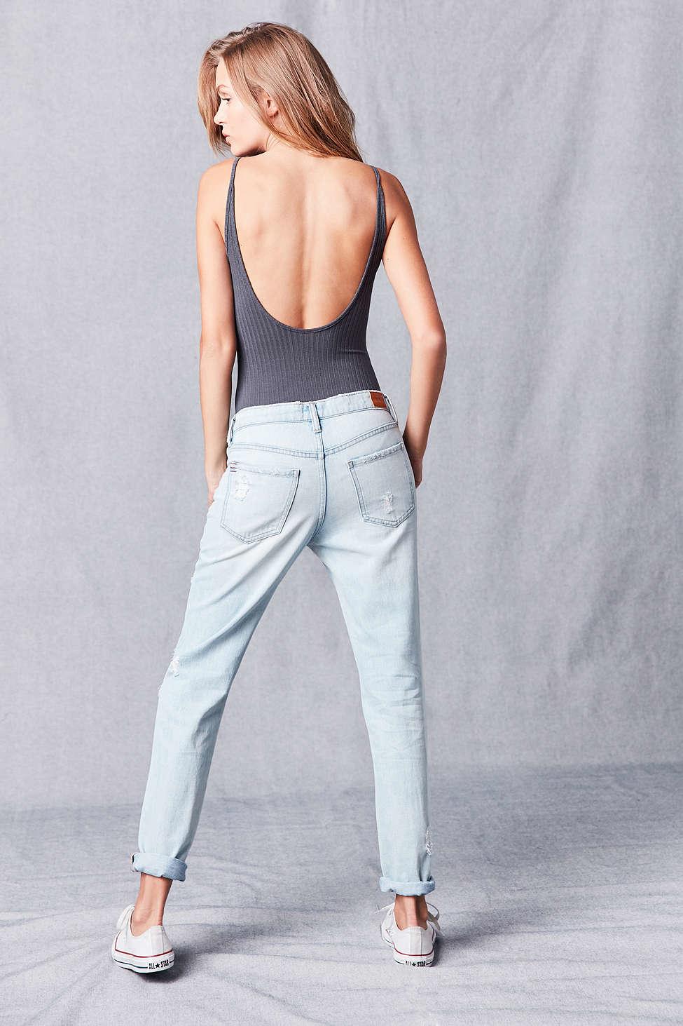 Bdg Slim Boyfriend Jean - Light Denim Slash in Blue | Lyst