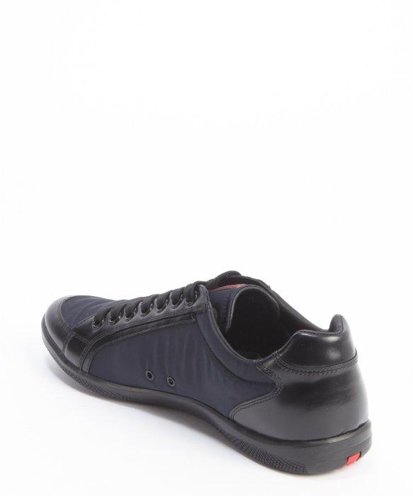 Prada Black & Blue Sport Sneakers KMkK6YU
