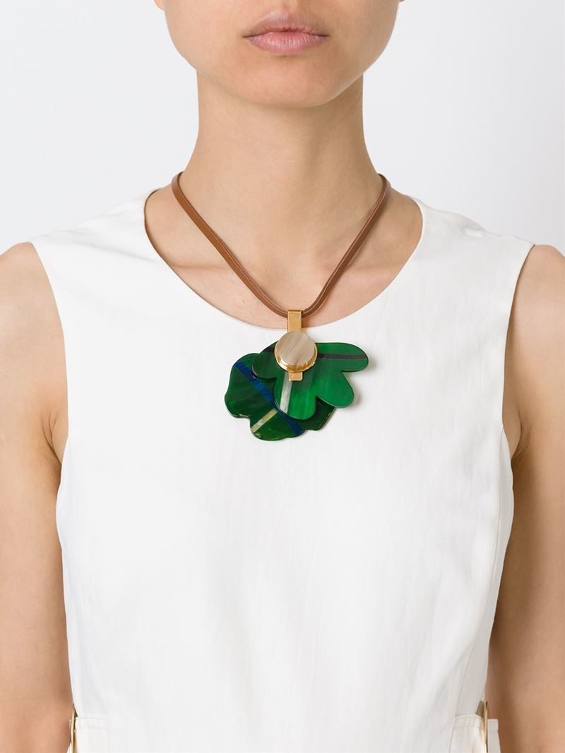 Marni Embellished Flower Choker 6wnIFt