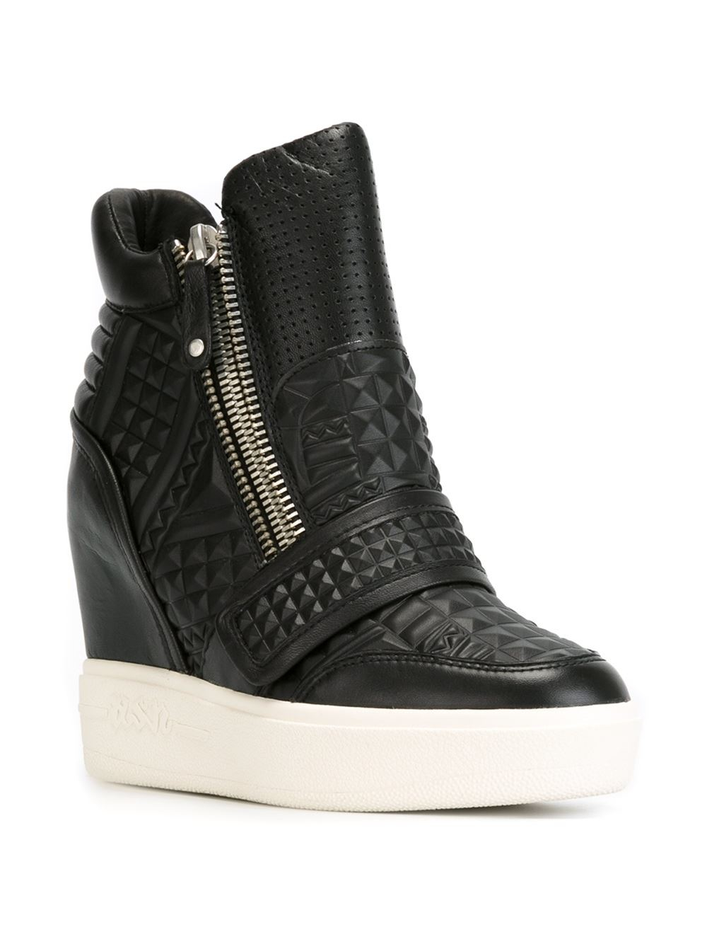 Lyst - Ash Wedge Sneakers in Black