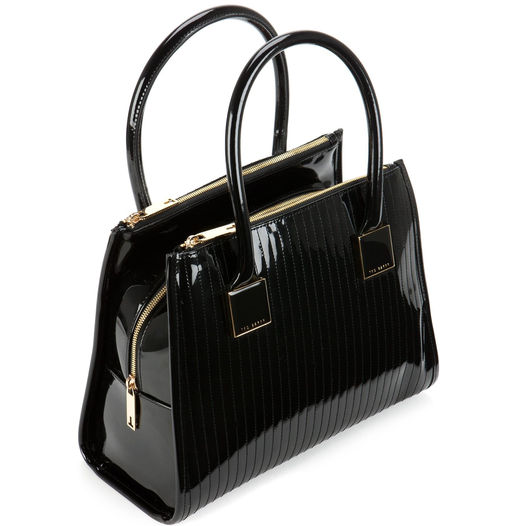 Ted Baker Sophia Quilted Tote Bag In Black Lyst