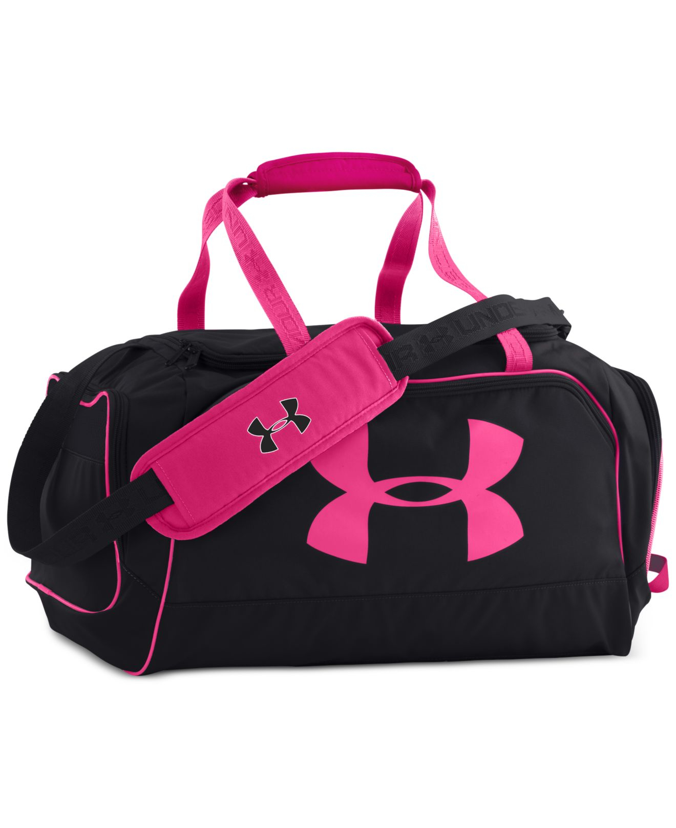 Under Armour Storm Watch Me Duffel Bag In Black