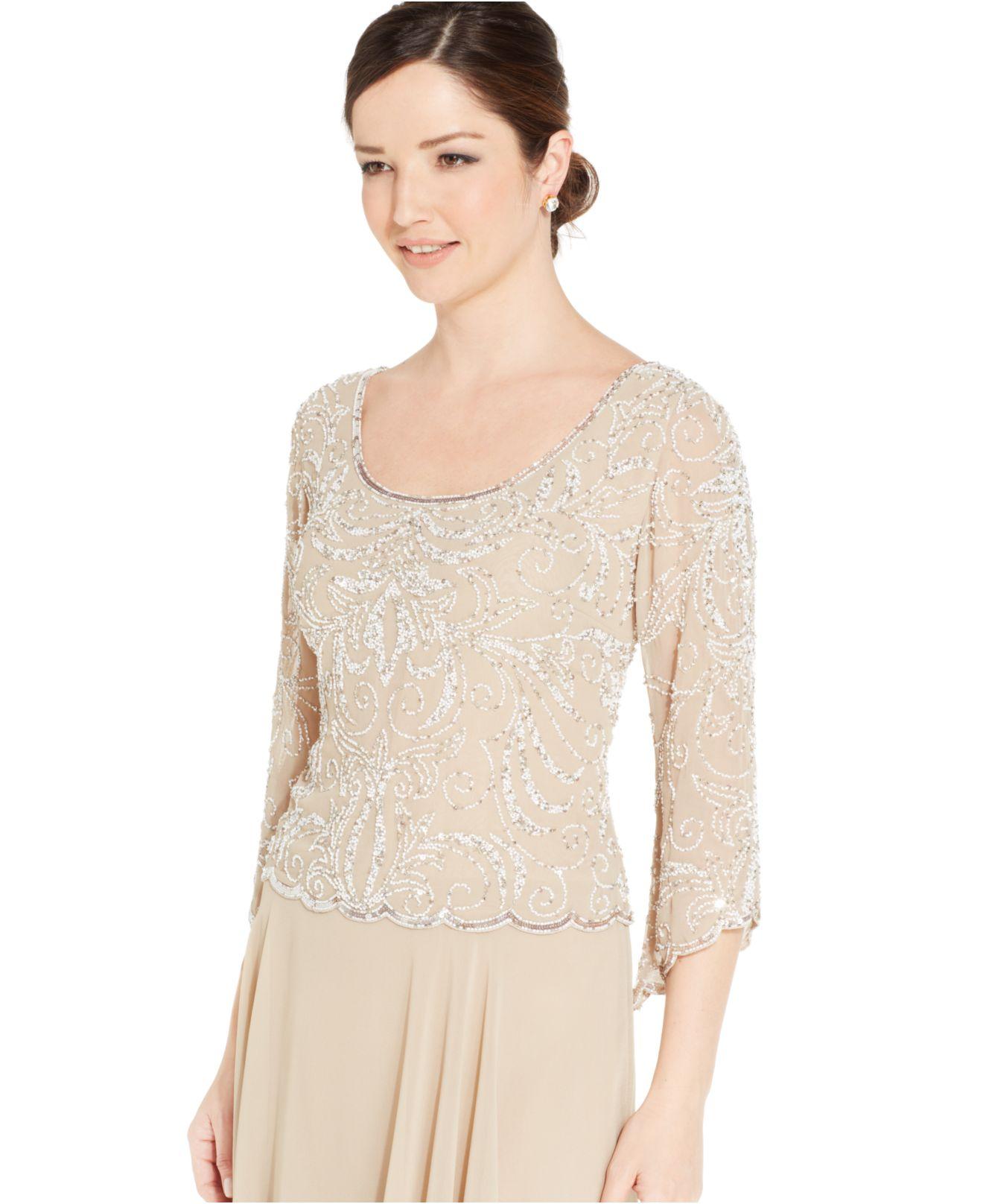 J Kara Sequin Gown – Fashion dresses