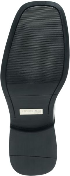 Kenneth Cole Silver Merge Oxford Dress Shoes in Black for Men