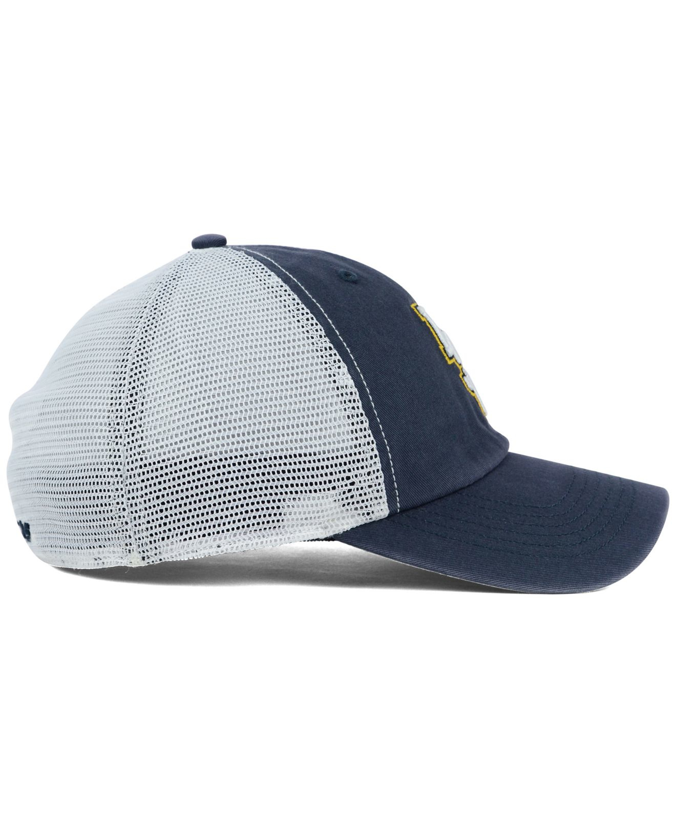45cd59b18e546 ... good lyst 47 brand lsu tigers stretch fit griffin cap in blue for men  2dee4 d455d