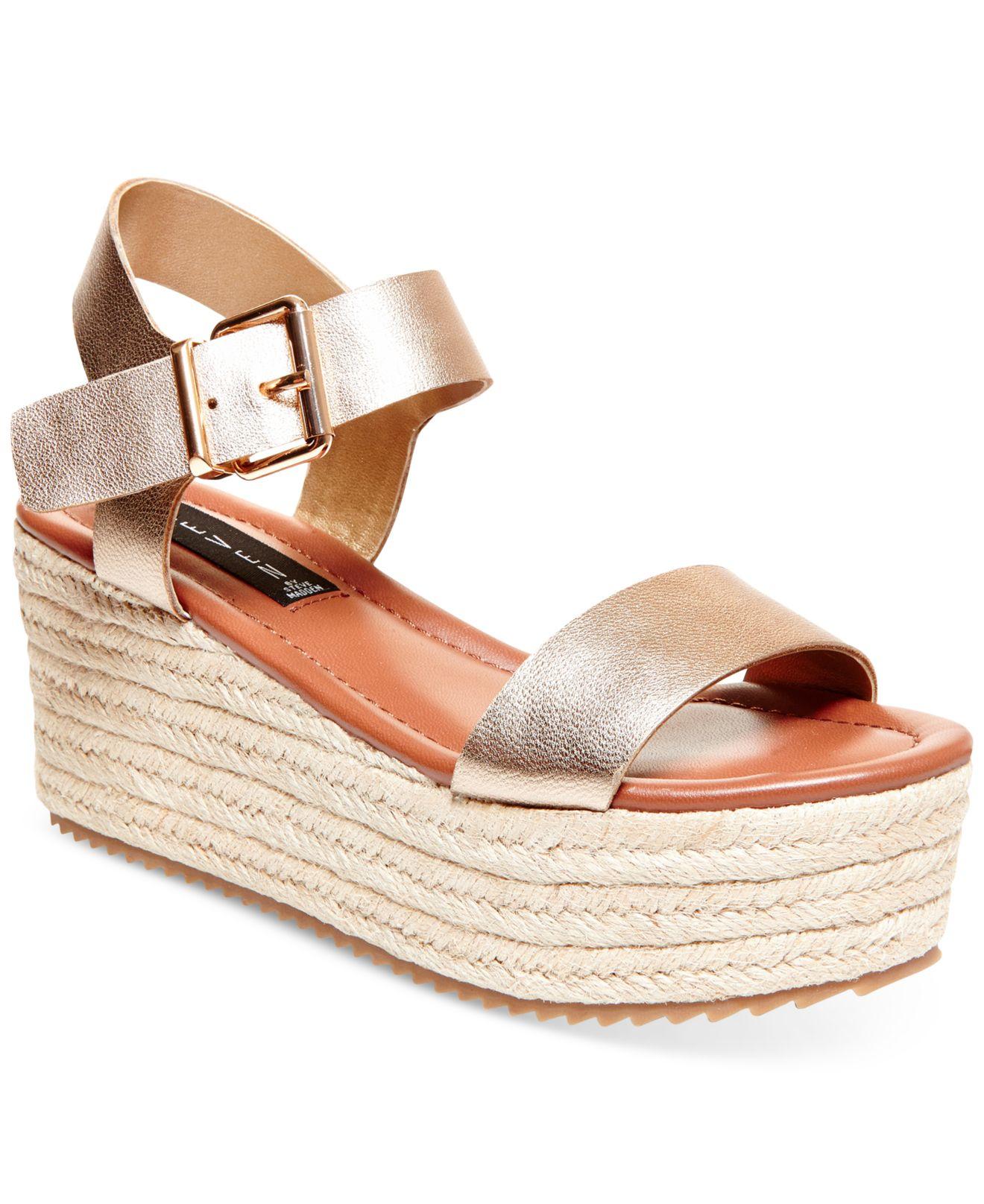 04fbdc2a07b Lyst - Steven by Steve Madden Women s Sabbie Platform Sandals in ...