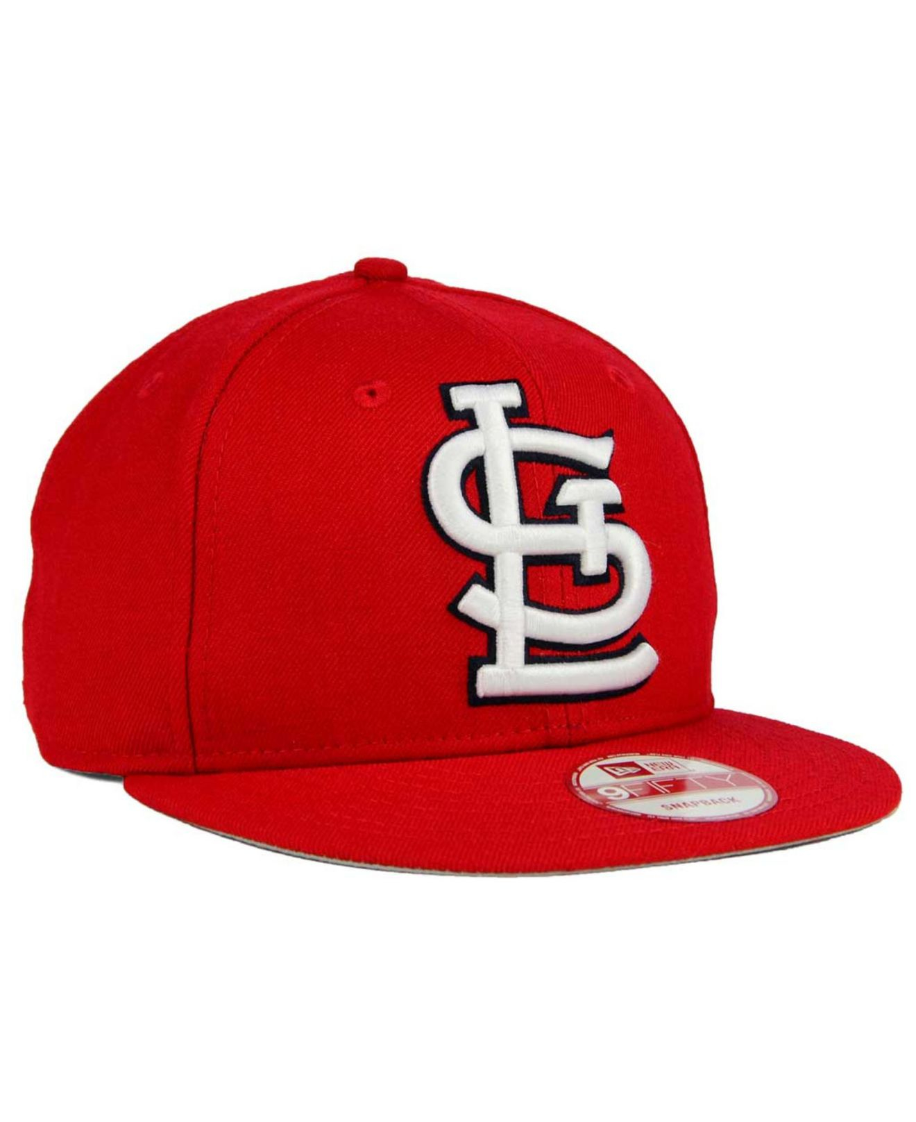c70d9b4300f Lyst - Ktz St. Louis Cardinals Biggie 9fifty Snapback Cap in Red for Men