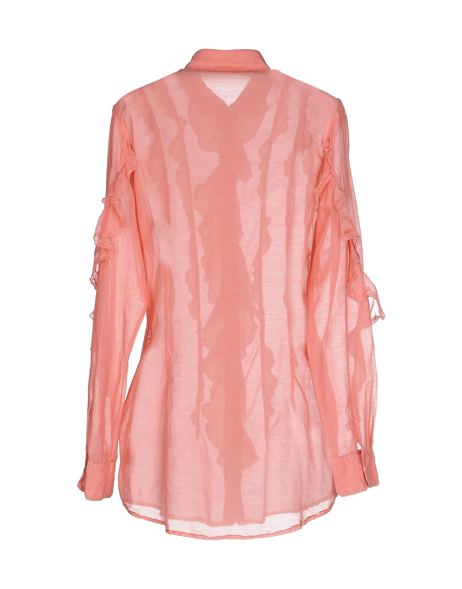 European Culture Shirt In Pink Lyst