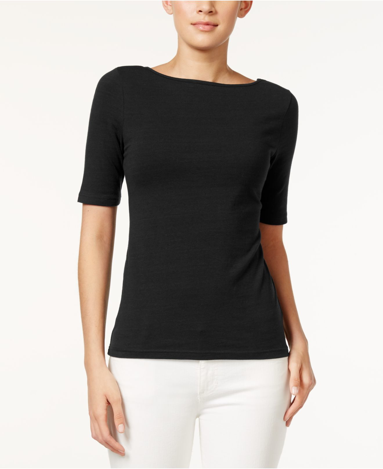 Sep 24, · Rated 5 out of 5 by Ann Sheep from Wrinkle free boat neck top Great colour and fit, love the style and length of the sleeves Date published: Rated 5 .