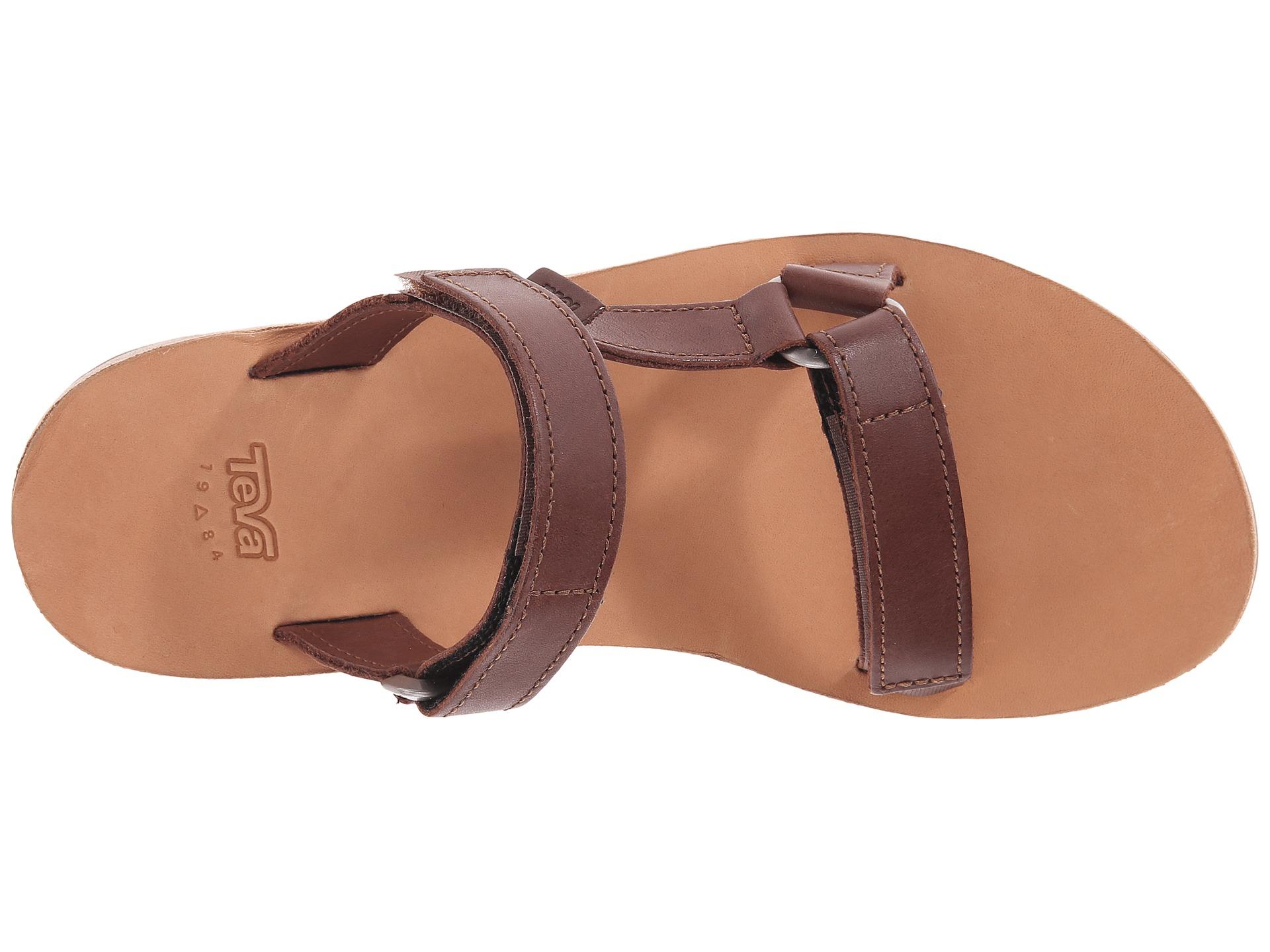 5569048e6 Lyst - Teva Universal Slide Leather in Brown