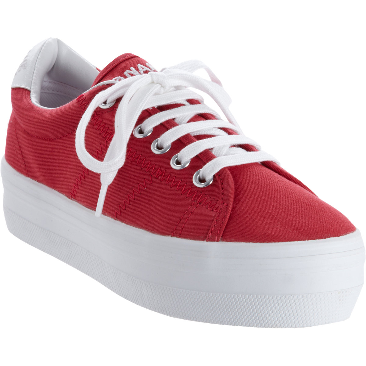 714b121ef84 Lyst - No Name Plato Platform Sneakers in Red