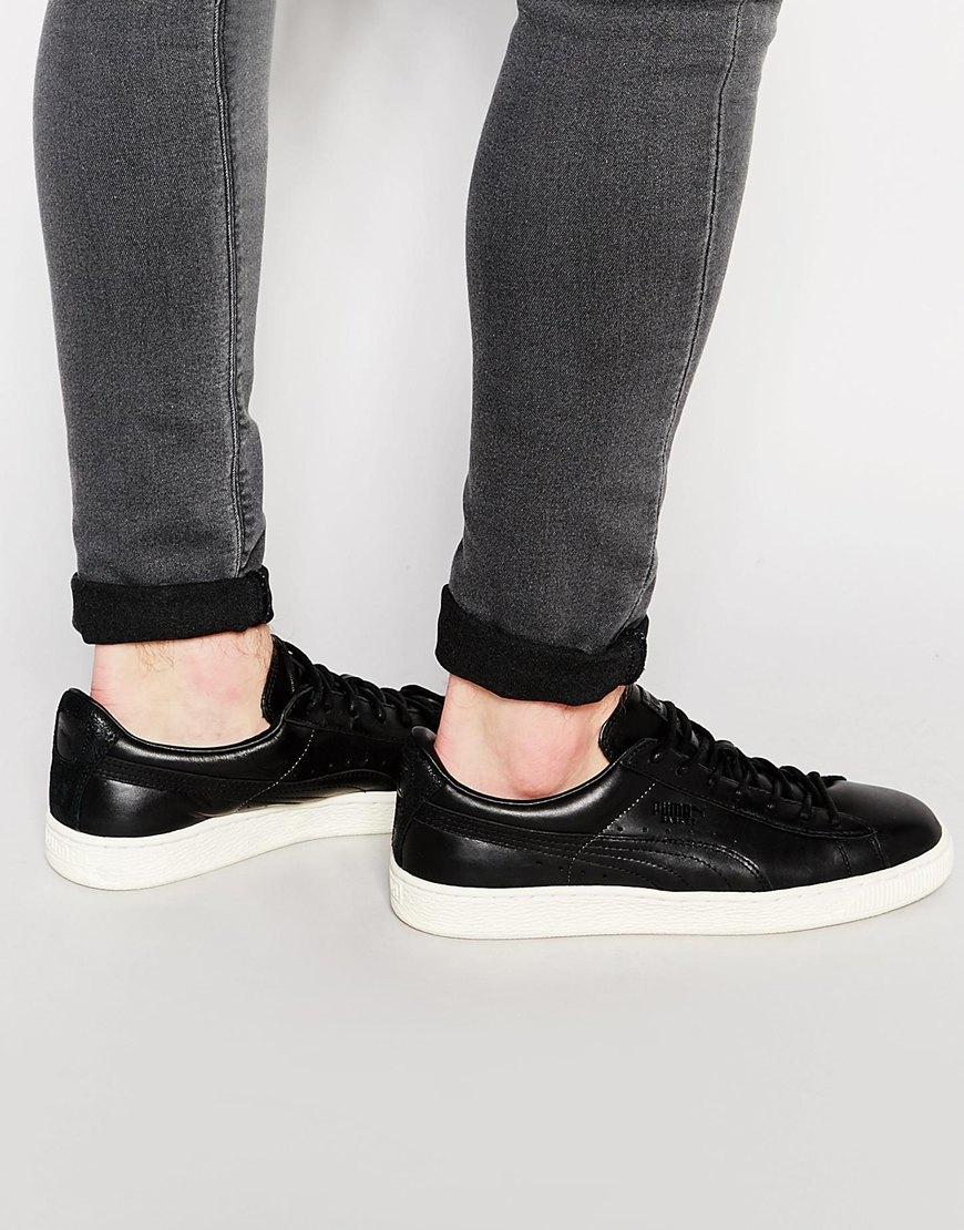 301219981537 Lyst - PUMA Basket Citi Series Sneakers in Black for Men