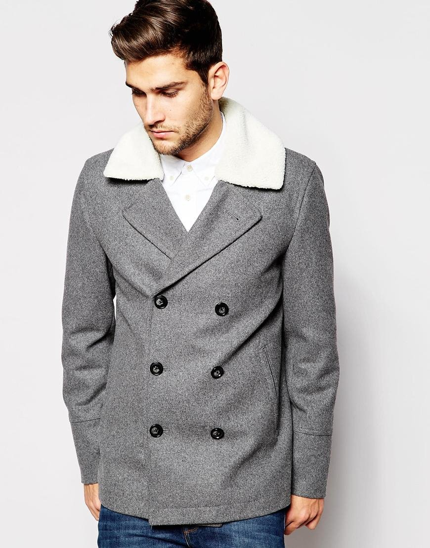 Light Pea Coat - Tradingbasis