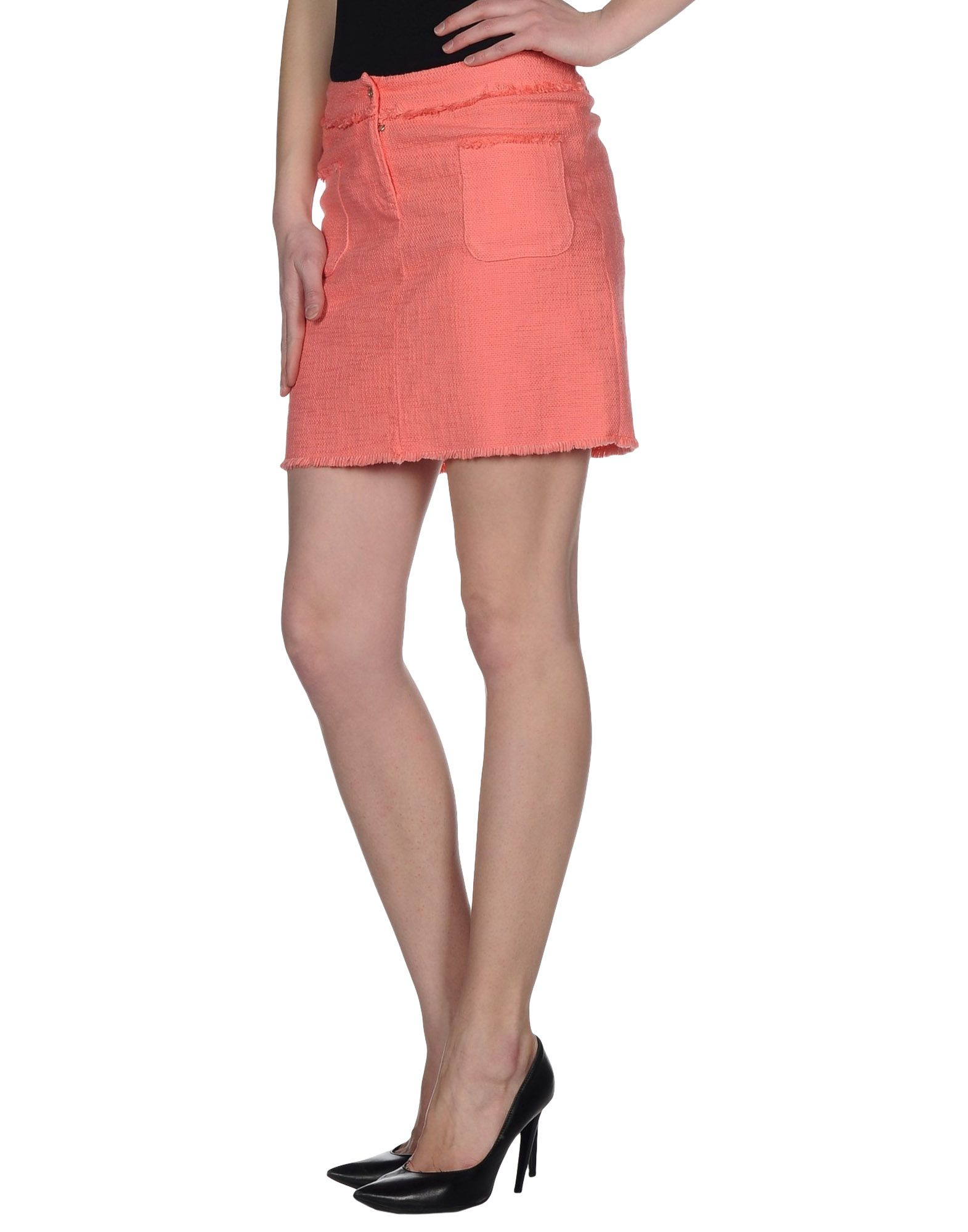 Exact Pink mini skirt well told