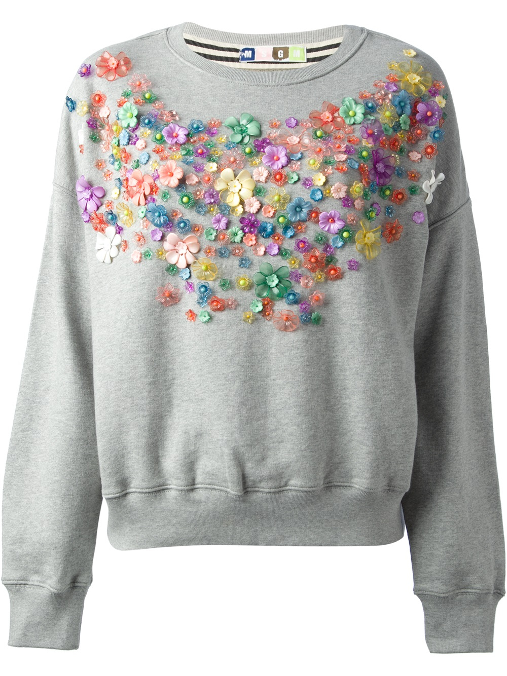 Gray Crew Neck Sweater Women S