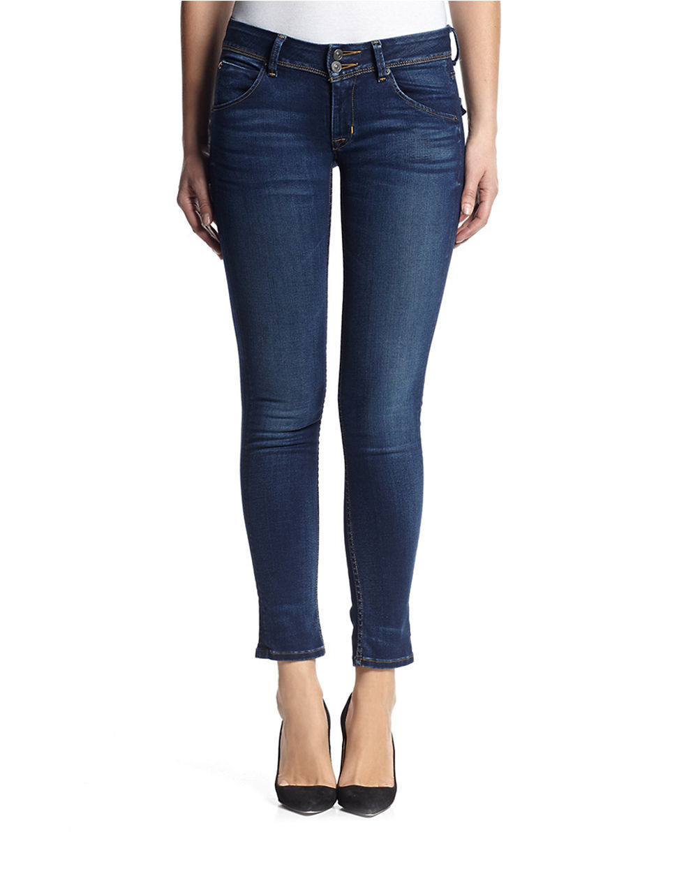 hudson mid rise in blue lyst